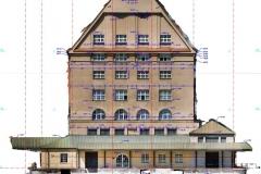 Fassadenaufmaß im Denkmalschutz