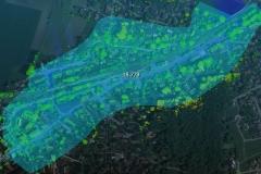 Lidar Layer auf Luftbild_Fläche